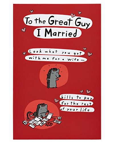 American Greetings Birthday Card for Husband (Crazy Life, Pop Up)