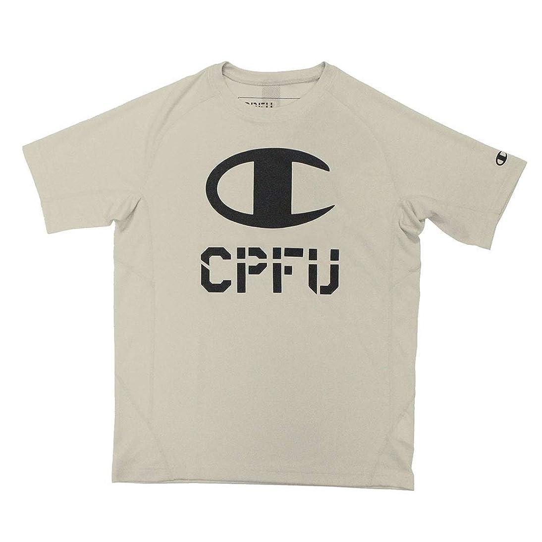 湿気の多いグリップ噴出するChampion チャンピオン CPFU T-SHIRT Tシャツ カットソー ティーシャツ 半袖 ロゴ メンズ レディースC3PS308