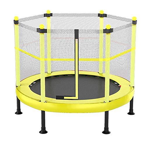 TXTC 40 '' Camas Elasticas para Niños, Cómodo Paño De Alta Rebote, Trampolín Plegable con Recinto, Trampolin para Niños Que Saltan Y Entrenando Actividades Interiores Durante 4-15 Años
