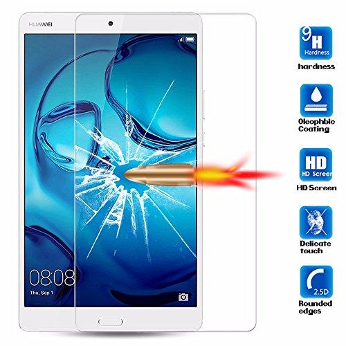 Lobwerk displaybescherming voor Huawei MediaPad M3 Lite 10 inch beeldschermfolie beschermfolie zonder luchtbellen transparant Beschermglas