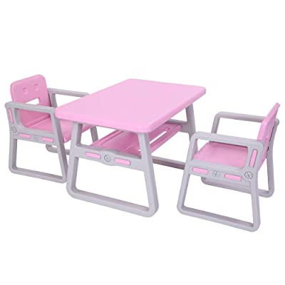 Kids Table and Chairs Set - Toddler Activity Ch...