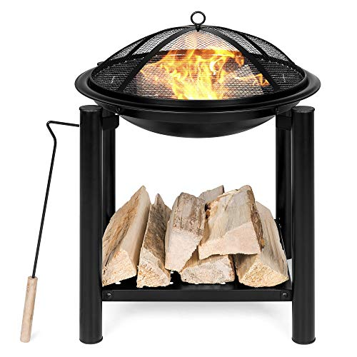 Best Choice Products, Outdoor Fire Pit Bowl