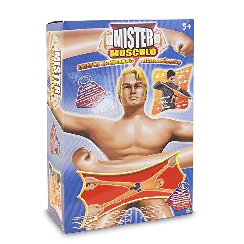 Mister Musculo - Muñeco Stretch Armstrong Estirable (Giochi Preziosi...