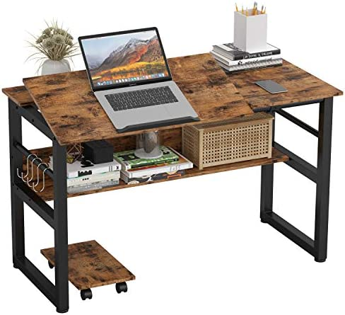 IRONCK Computer Desk 47 Writing Study Table Multi Function Drafting Drawing Table with Adjustable product image