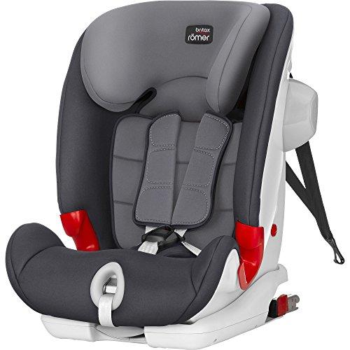 Britax Römer ADVANSAFIX III SICT Auto-/Kindersitz, 9 - 36 kg, Gruppe 1/2/3, storm grey