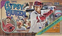 2019 Topps Gypsy Queen MLB Baseball HOBBY box (24 pk, TWO Autograph cards)