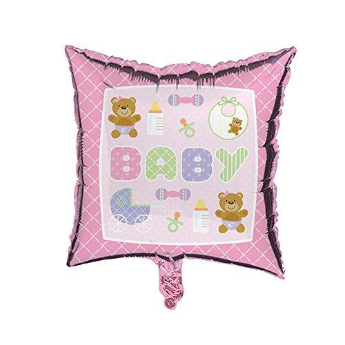 Rose bébé Feuille Ballon – 45,7 cm