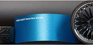 3M 1080 M227 Matte Blue Metallic 5ft x 1ft (5 sq/ft) Car Wrap Vinyl Film