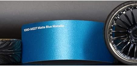 3M 1080 Matte Blue Metallic   M227   Vinyl CAR WRAP Film (5ft x 20ft (100 Sq/ft)) w/Free-Style-It Pro-Wrapping Glove