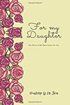 For My Daughter (Yellow Cover): The Pieces of Me That I Leave for You