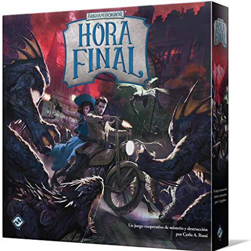 Fantasy Flight Games- Arkham Horror - Hora Final, Color (AFH01ES)