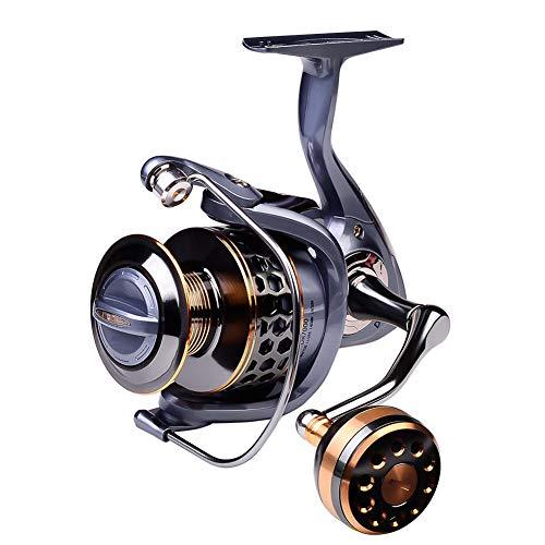 Molinete de pesca Szkn Full Metal Copa de Arame Marinho Longo Molinete de Pesca Modelo 4000