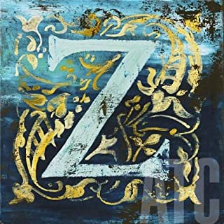 ArtToCanvas 36W x 36H inches : Letter Z by Rodney White - Paper Print ONLY