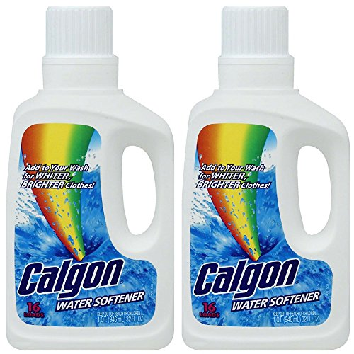 Calgon Liquid Water Softener, 32 oz (Pack of 2)