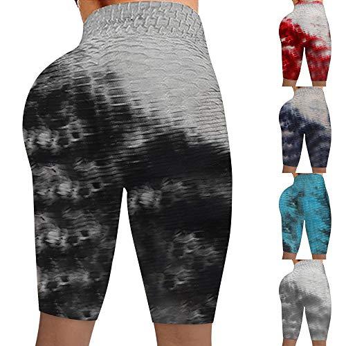 bayrick Caliente en Europa y América,Jacquard Bubble Yoga Pantalones de Cintura Alta elevación de Cintura-Personalización de Bienvenida_S