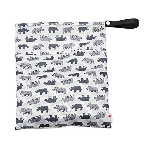 Rosepoem Bolsa de pañales para colgar bolsa de almacenamiento de coche bebé vacaciones suave multifuncional universal multicolor poliéster