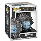 Gogowin Pop Television : Game of Thrones - Night King Sitting On Iron Throne 3.9inch Vinyl Gift for ...