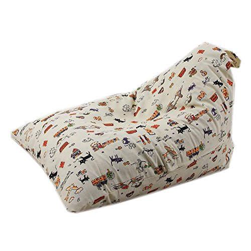 Sulifor Aufbewahrungstasche, Kinder Stofftier Plüsch Spielzeug Aufbewahrungssack Soft Pouch Streifen Stoff Stuhl