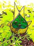 XWBO Korogu Family Garden Craft Decoration, Garden Korok Glass, The Legend of Zelda Adornos artísticos únicos Estatuas para Uso en Exteriores (B)
