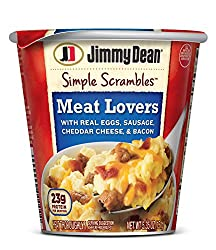 Jimmy Dean Simple Scrambles Meat Lovers, 5.35 oz.