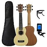 Ukulélé ZWRY 21 pouces ukelele acajou Soprano gecko ukulélé instrument de musique guitare 4 cordes hawaïen minis guitarra 21 pouces épicéa top gecko