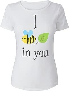 I Bee Leaf In You Cute Design Camiseta de Mujer Women's T-Shirt