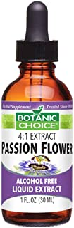 Botanic Choice Passion Flower Herb Alcohol Free Liquid Extract, 1 Fluid Ounce
