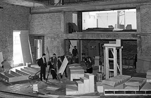 Construction of the new Mermaid Theatre in London 1959 Poster 2 61x91.5cm