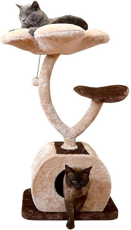 HEG-Árboles para gatos Gato Escalada Marco de Tres Capas Gato ...