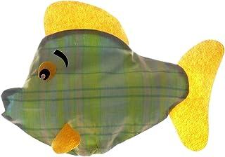 SACASAC ® Poisson - Rentrez Les Sacs Plastiques par Le Haut et. Tirez Les Un à Un par Le Bas.45 X 15 X 32 cm. Fab. France