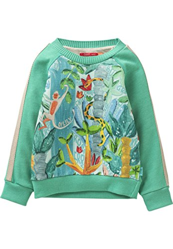 Oilily Sweatshirt Hobbe grün für Jungen YS18BHJ503