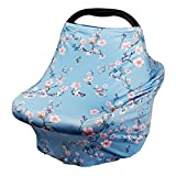 Nursing Cover Breastfeeding Scarf - Baby Car Seat Covers, Infant Stroller Cover, Carseat
