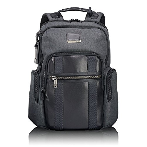 "Tumi Alpha Bravo - Nellis Laptop Backpack 15"" Zaino Casual, 40 cm, 22.28 liters, Grigio (Anthracite)"