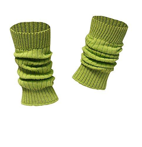 socken-und-mehr Kinderstulpen in vielen Farben apfelgrün