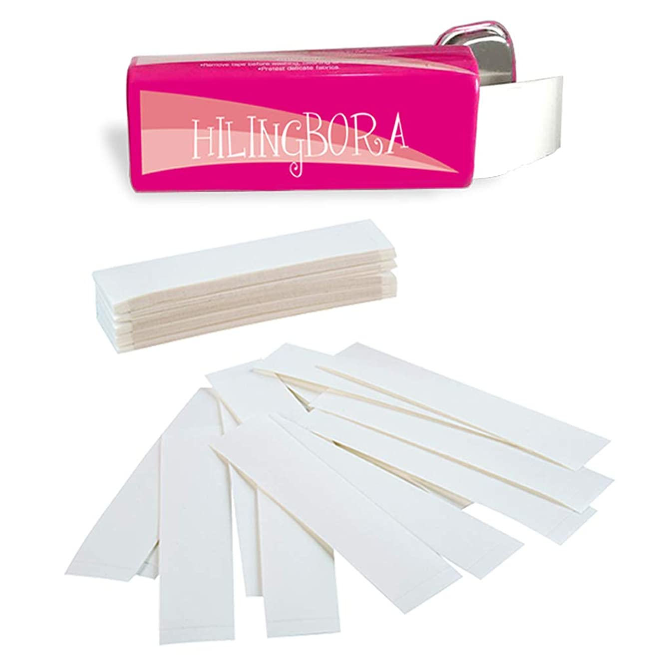 HILINGBORA Fashion Beauty Tape Medical Quality Double Sided For Fashion and Body 1 tin x 30 strips (1 tin x 30 strip)