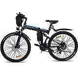 VARUN E-Bike Klappbar, Damen Herren 26 Zoll Elektro Mountainbike mit (288Wh) 250W Motor,...