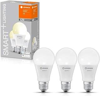 LEDVANCE LED lamp | Lampvoet: E27 | Warm wit | 2700 K | 9 W | SMART+ WiFi Classic Dimmable [Energie-efficiëntieklasse A+]