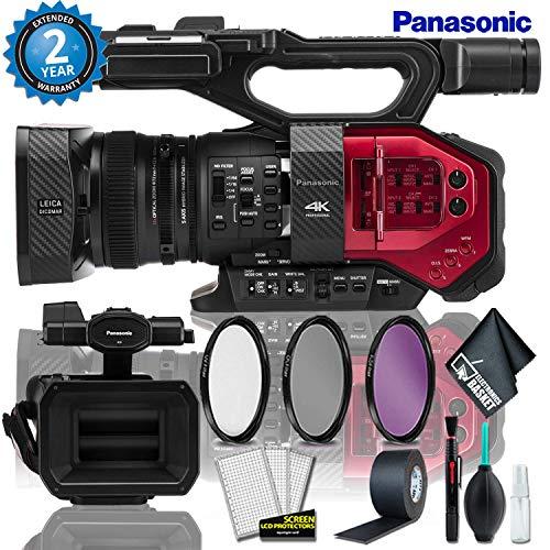 Fantastic Prices! Panasonic AG-DVX200 4K Handheld Camcorder + 3PC Filter Kit + Gaffer Tape + Cleanin...