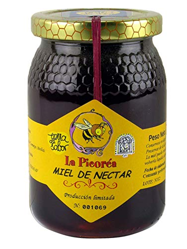 La picoréa puren boshoning van Spaanse Imker uit Madrid | propolis honingbij Artisana | Honingpot 500 gram
