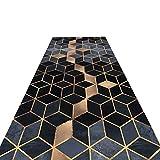 HAIPENG-alfombras pasillo Corredor Largo Entrada Antideslizante Estera De Puerta Lavable En La Lavadora Paso Formal (Color : B, Tamaño : 0.9x4m)