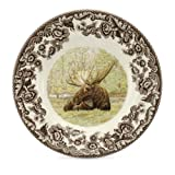 Spode Woodland Majestic Moose Bread and Butter Plate...