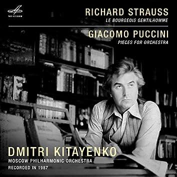 Dmitri Kitayenko. Richard Strauss, Giacomo Puccini