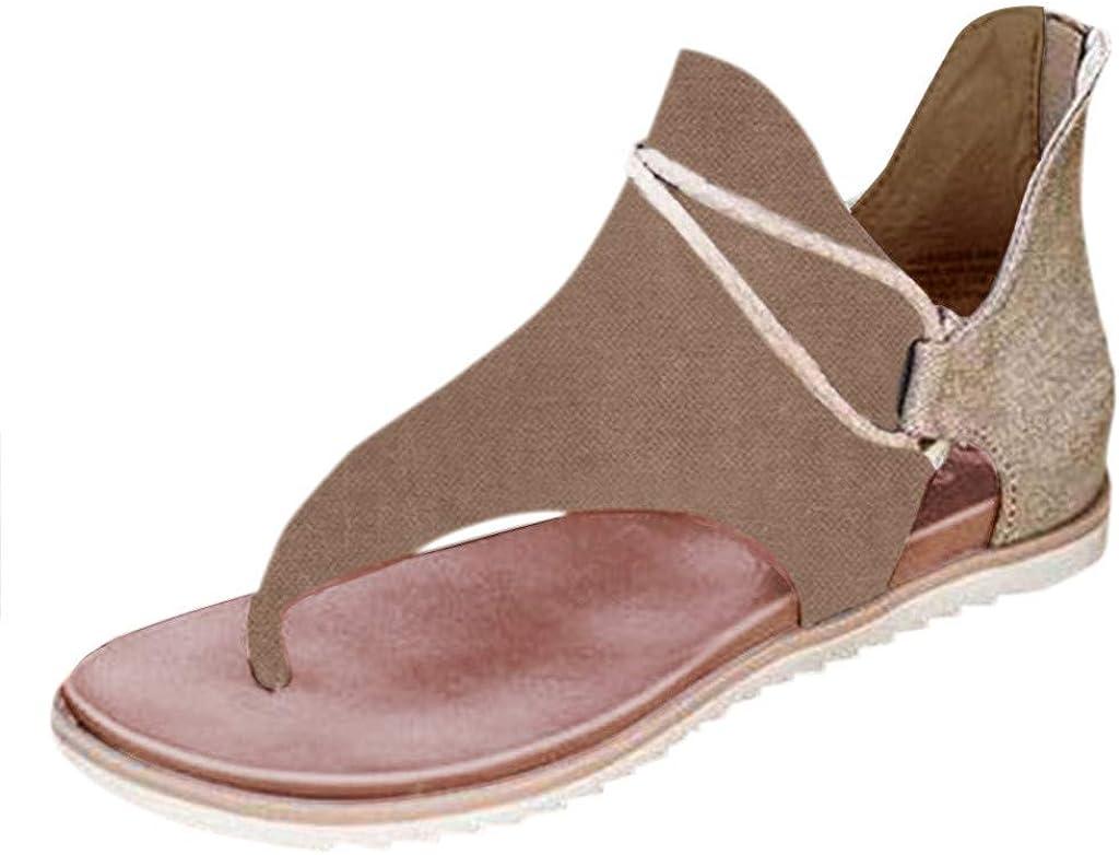 Sandals High Ranking TOP14 material for Women Flat Casual Summer Open Beach Slip-On