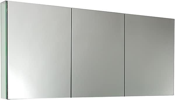 Fresca FMC8019 60 Wide Bathroom Medicine Cabinet With Mirrors