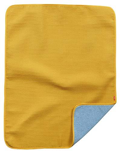 Ideenreich 2567 IDEENREICH 2567 babydeken, mosterd, 70 x 90 cm, geel