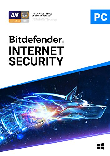 Bitdefender Internet Security - 3 Devices   1 year Subscription   PC Activation Code by email