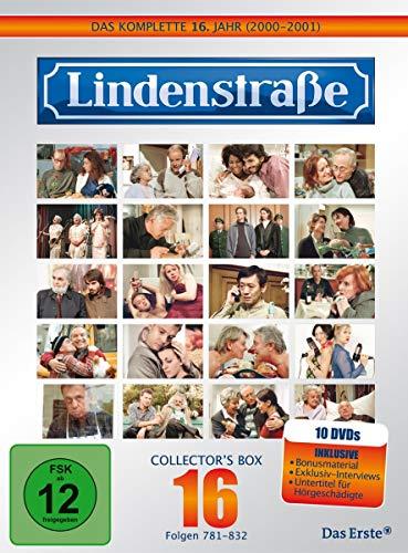 Die Lindenstraße - Das komplette 16. Jahr, Folgen 781-832 (Collector's Box, 10 Discs)
