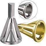 BETOY 2 pcs Deburring External Chamfer Tool, Herramienta Chaflán de Biselado Acero Inoxidable Eliminar Broca para Metal Diámetro Exterior Externo, de desbarbado, de Rebabas
