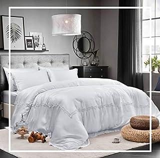 Luxury Bedding Set 6pcs King Size 6pcs - 100% Tencel Cotton - 1 Duvet Cover 260x240cm - 1 Fitted Bed Sheet 200x200+30cm - ...