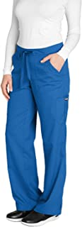 Grey's Anatomy Women's 4245 Junior Fit 4-Pocket Elastic...